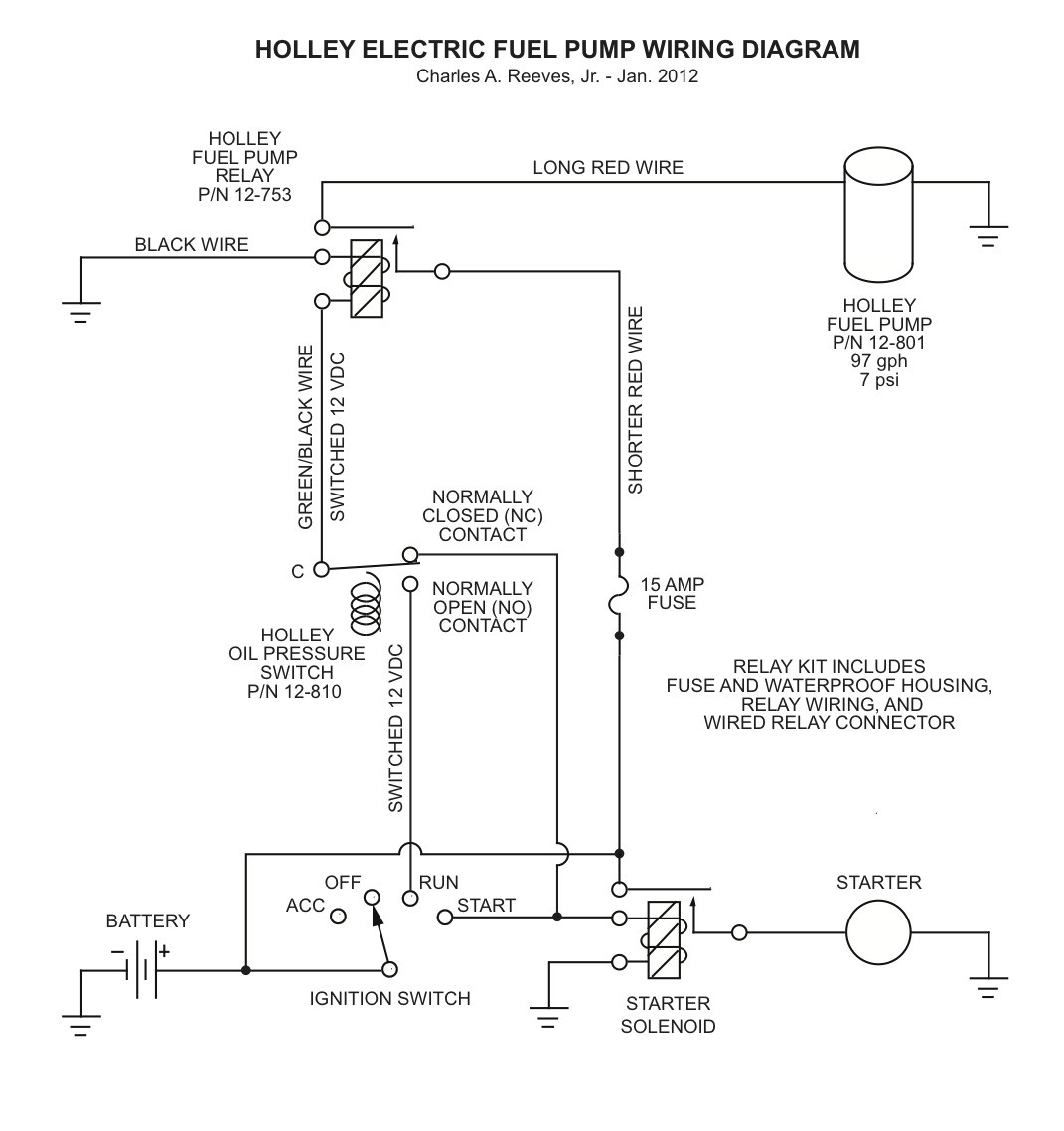 Delphi Fuel Pump Wiring Diagram