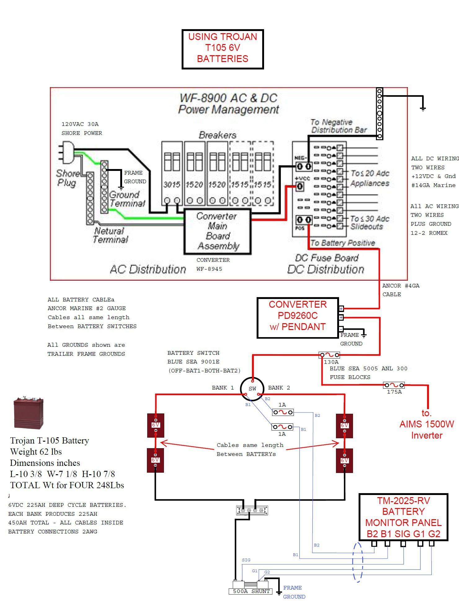 Rv Converter Wiring Diagram Elegant Rv Power Converter Wiring Diagram Fresh Nice Kib Monitor Panel