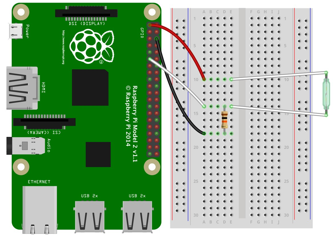 fritzing repo projects c control reed switch by