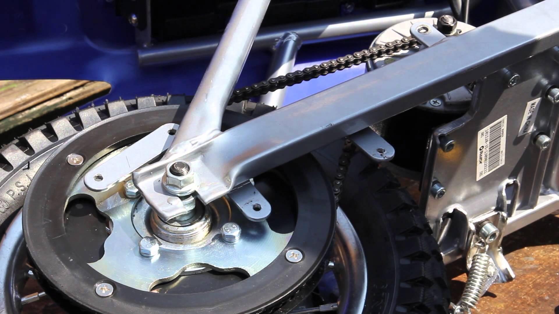 Razor Mini MX Racer Electric Dirt Rocket ZR350 BikemanforU Repair