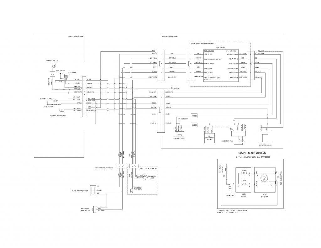 Ge Refrigerator Wiring Diagram Ice Maker Fresh Whirlpool Refrigerator Wiring Diagram Electrical Schematic For Eugrab New Ge Refrigerator Wiring