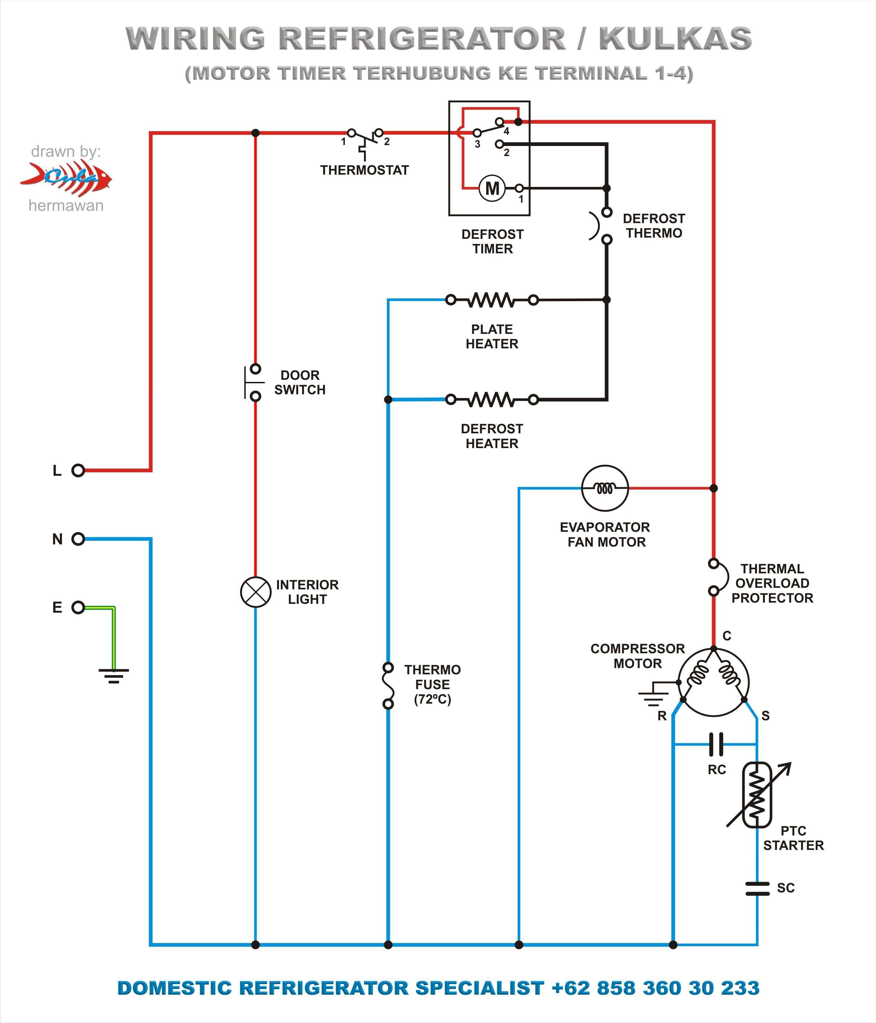 Refrigerator pressor Wiring Diagram & Refrigerator pressor Wiring Diagram New How To Wire A Refrigerator Pressor Relay Wiring Diagram