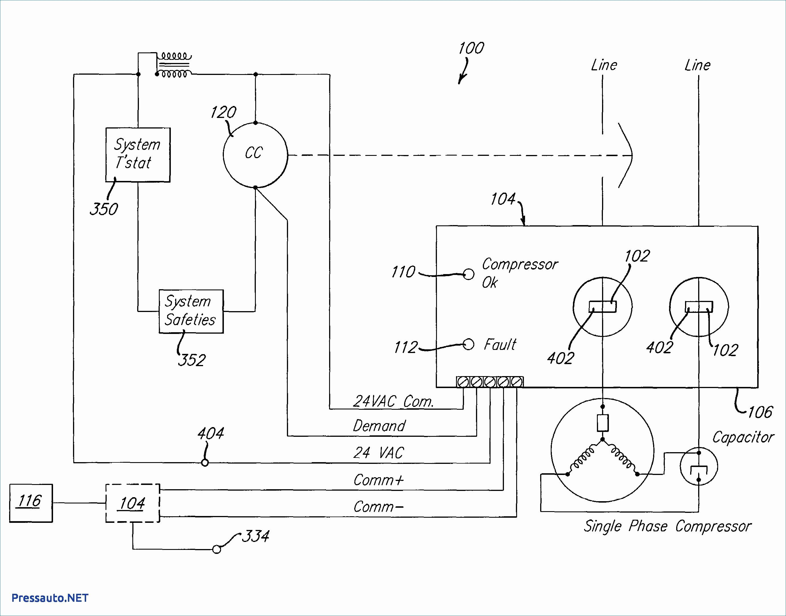 Refrigerator pressor Wiring Diagram Inspirational Refrigerator