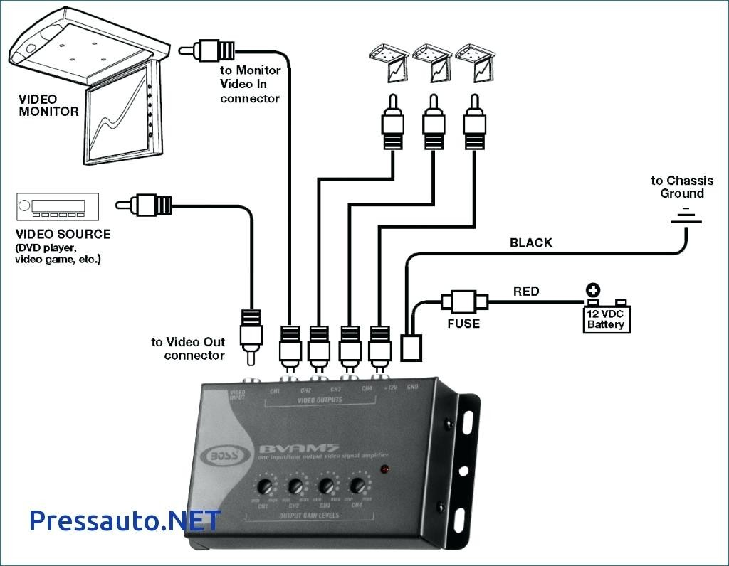 Rockford Fosgate 5 Channel Amp Wiring Diagram Lovely Amplifier For How To Wire A
