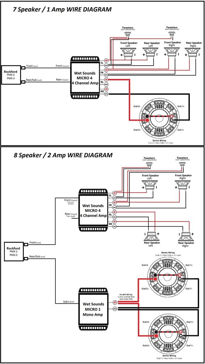 Diagrams For Wiring 2 Amps Library Diagram 3 Dvc 4 Ohm Mono Amp Amplifier Fancy Blurts Me 18