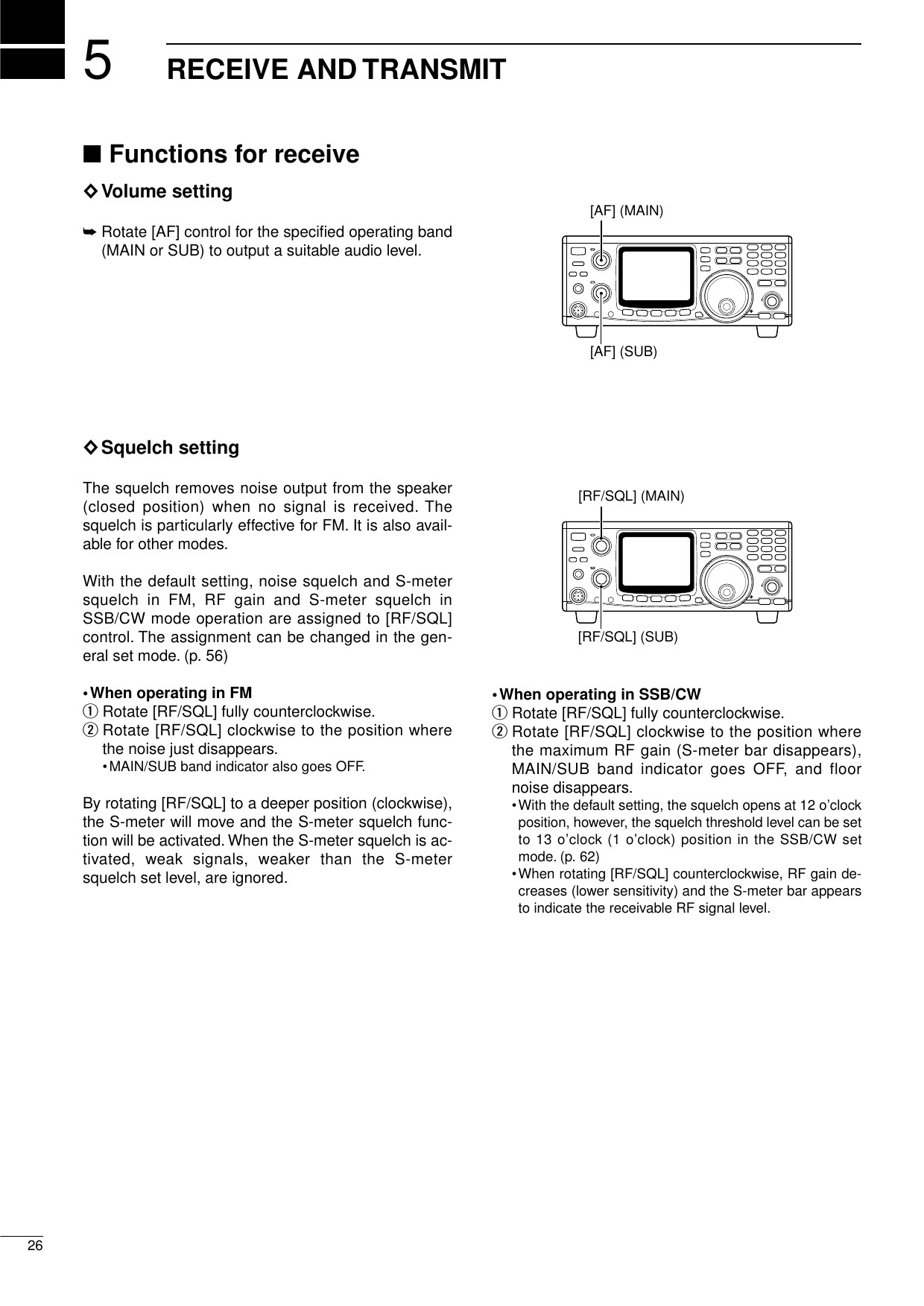 Page 28 of IC 910H Amature Scanning Transceiver User Manual IC 910H 2 qxd