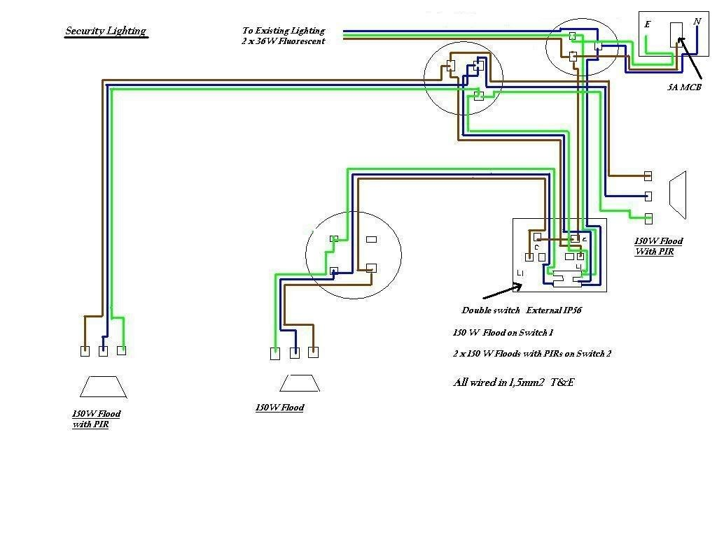 Wiring 2 Pir Sensors Diagram Website And Wiring Motion Light Sensor ...