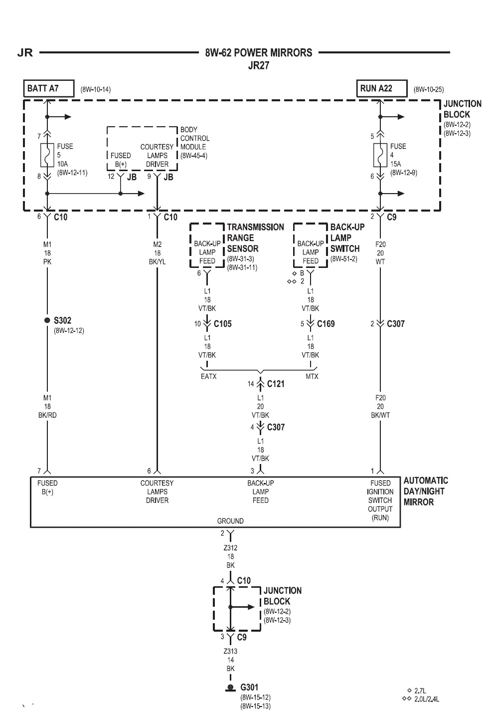 Pt Cruiser Mirror Wiring Diagram And Schematics Chrysler Sebring Dim Maplights Pwiring Below Is The That You Need Let Me Car