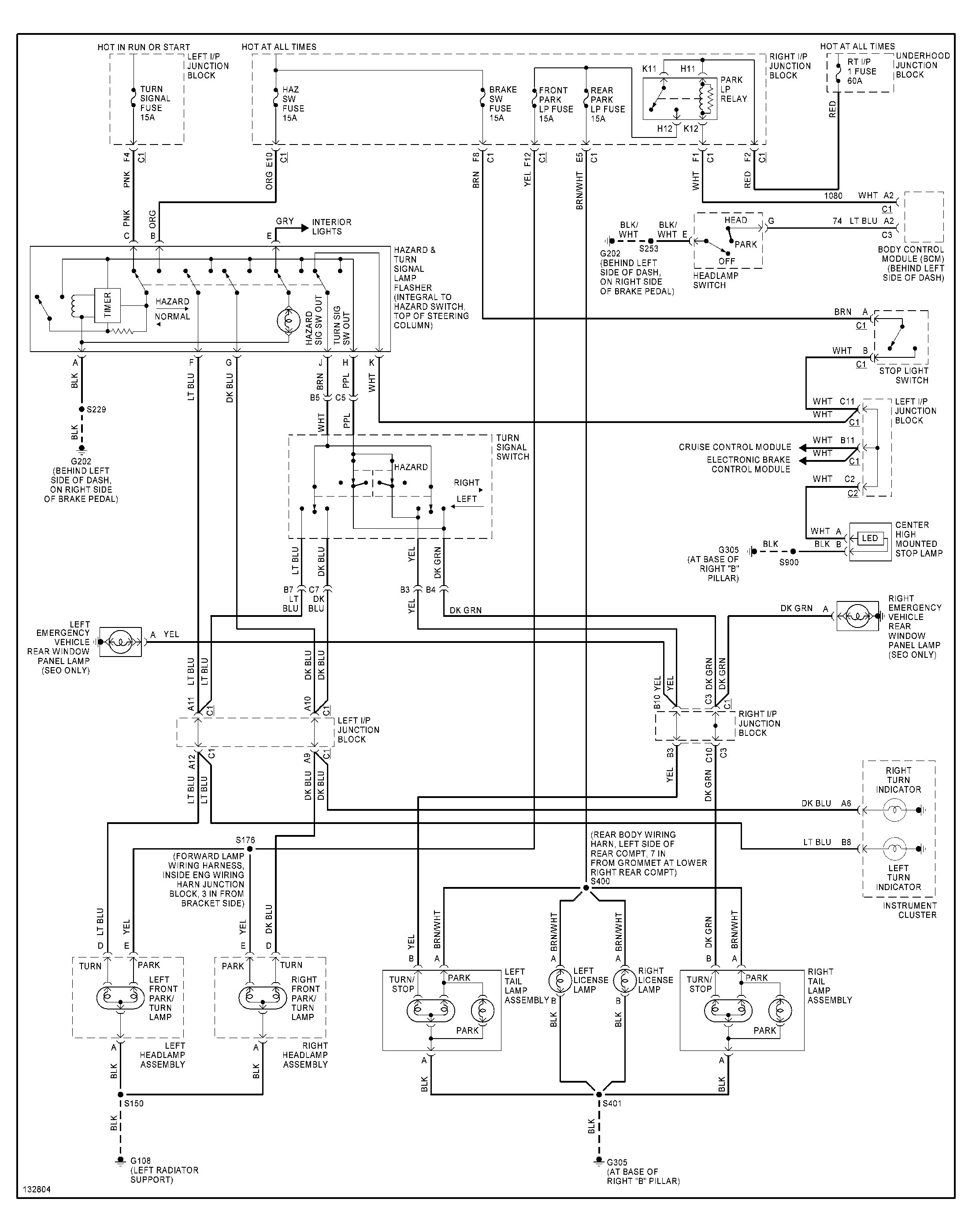 Silverado Tail Light Wiring Diagram Wiring Diagram Image