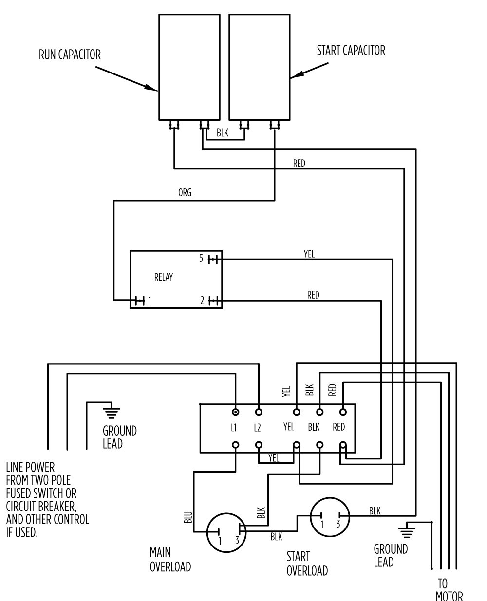 single phase marathon motor wiring diagram. Black Bedroom Furniture Sets. Home Design Ideas