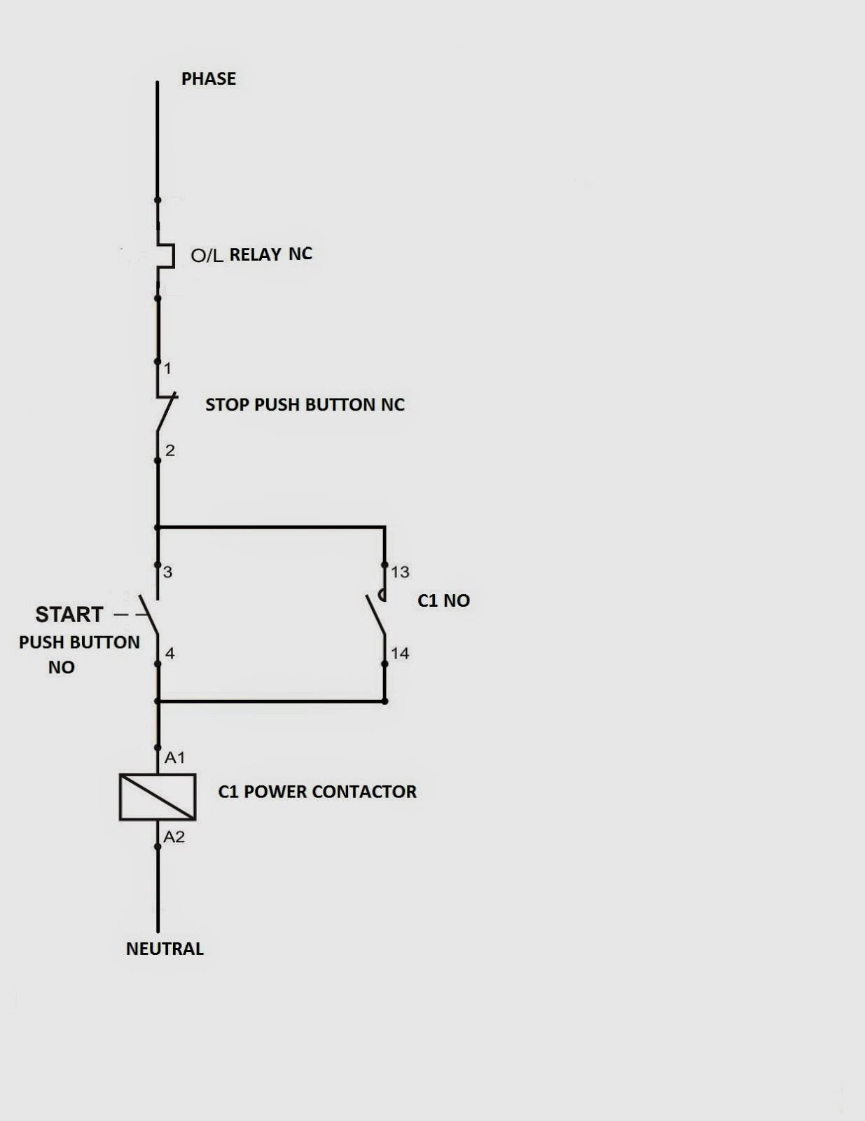 Star Delta Starter Control Circuit Diagram Wiring Image 5 Fig Dol