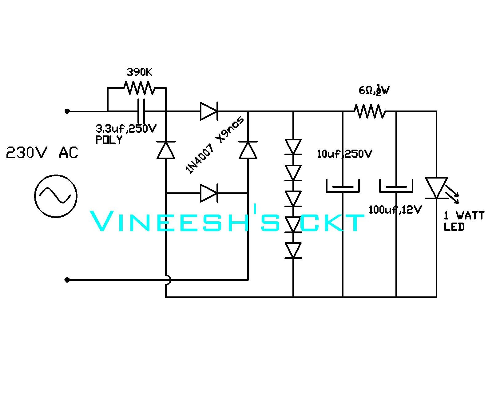 Street Light Wire Diagram Wiring Image Solar Circuit 230v Led Driver Zen Electrical