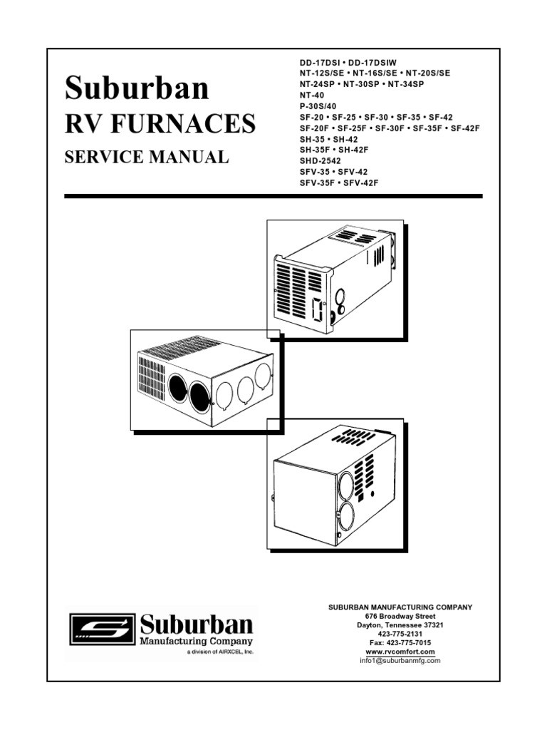V 1 And Suburban Rv Furnace Wiring Diagram