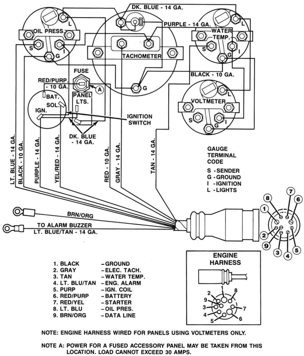 new suzuki outboard key switch wiring