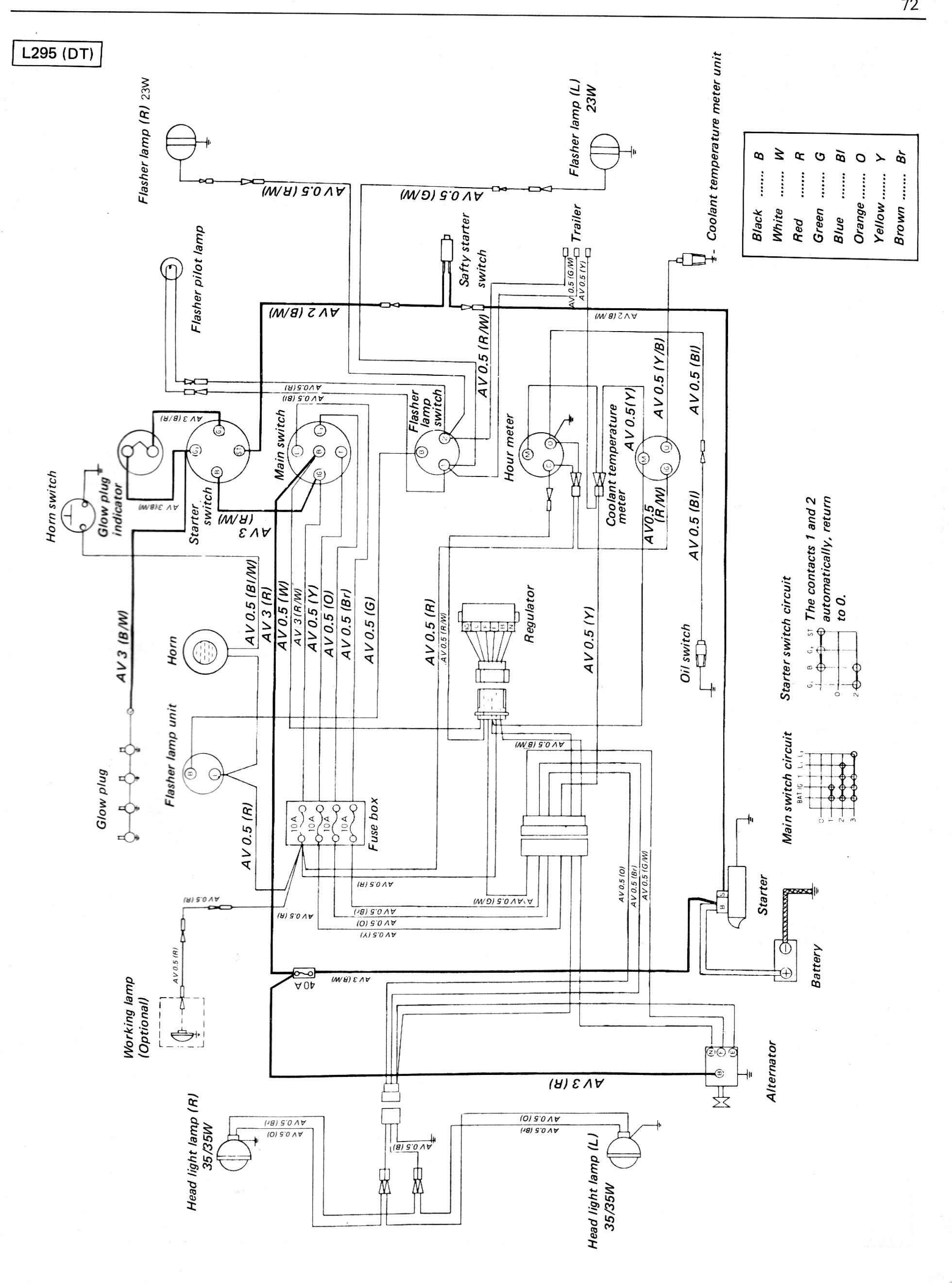 tractor alternator wiring diagram best of