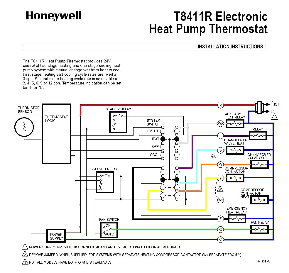 Heat Pump Wiring Diagram Exquisite Shape Trane With Thermostat