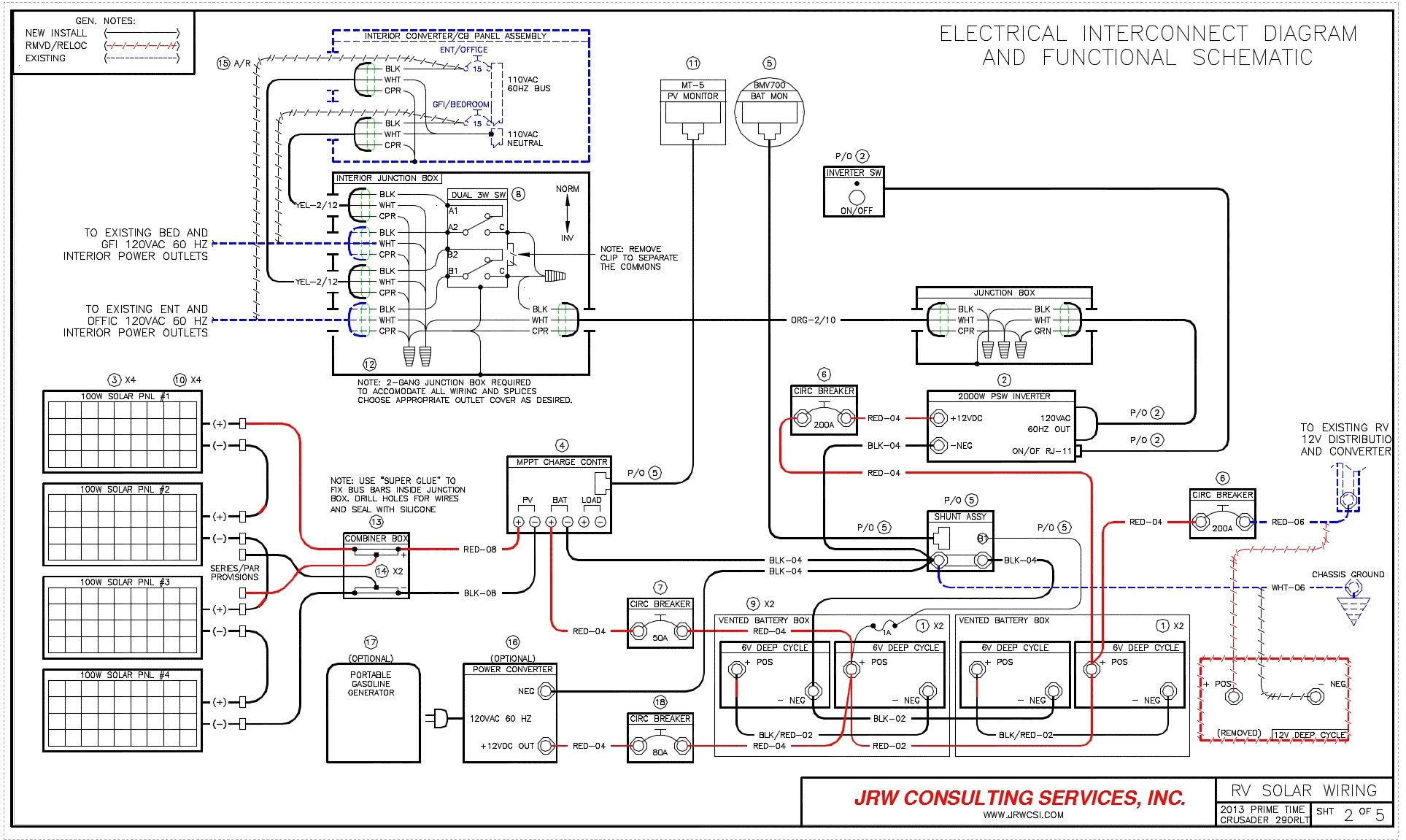 2003 Fleetwood Discovery Wiring Diagram
