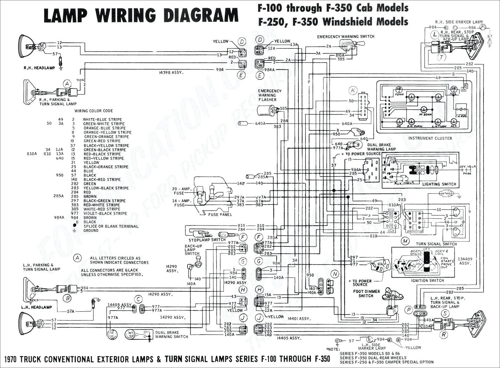 Semi Trailer Wiring Diagram Unique Wiring Diagram ford F150 Trailer Lights Truck Best ford Engine