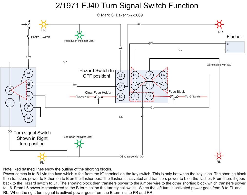 Universal Turn Signal Switch Wiring Diagram
