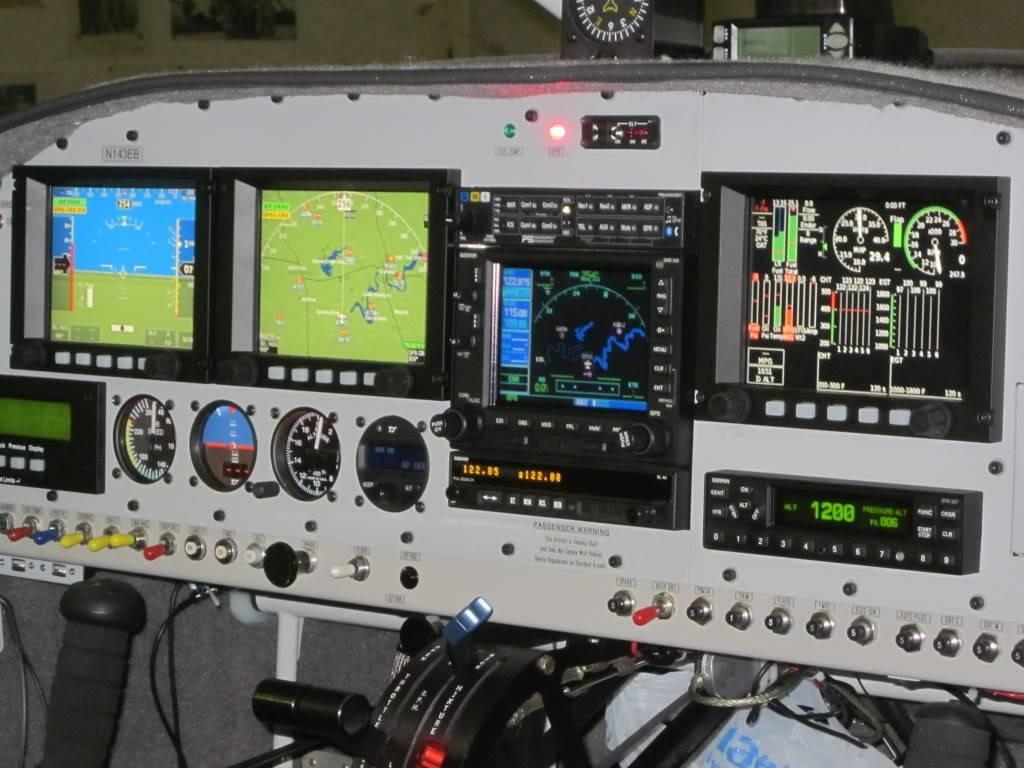 We decided on 3 GRT HX screens with dual AHARS GNS530W TruTrak Di light II VSGV autopilot PSE 8000BT SL40 and GTX 327 transponder