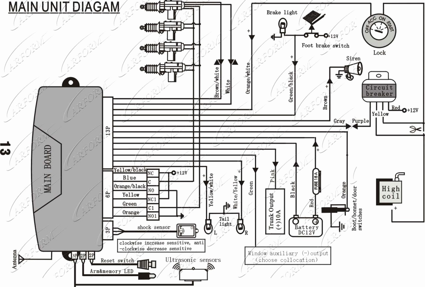 Viper 5806v Wiring Diagram Inspirational | Wiring Diagram Image