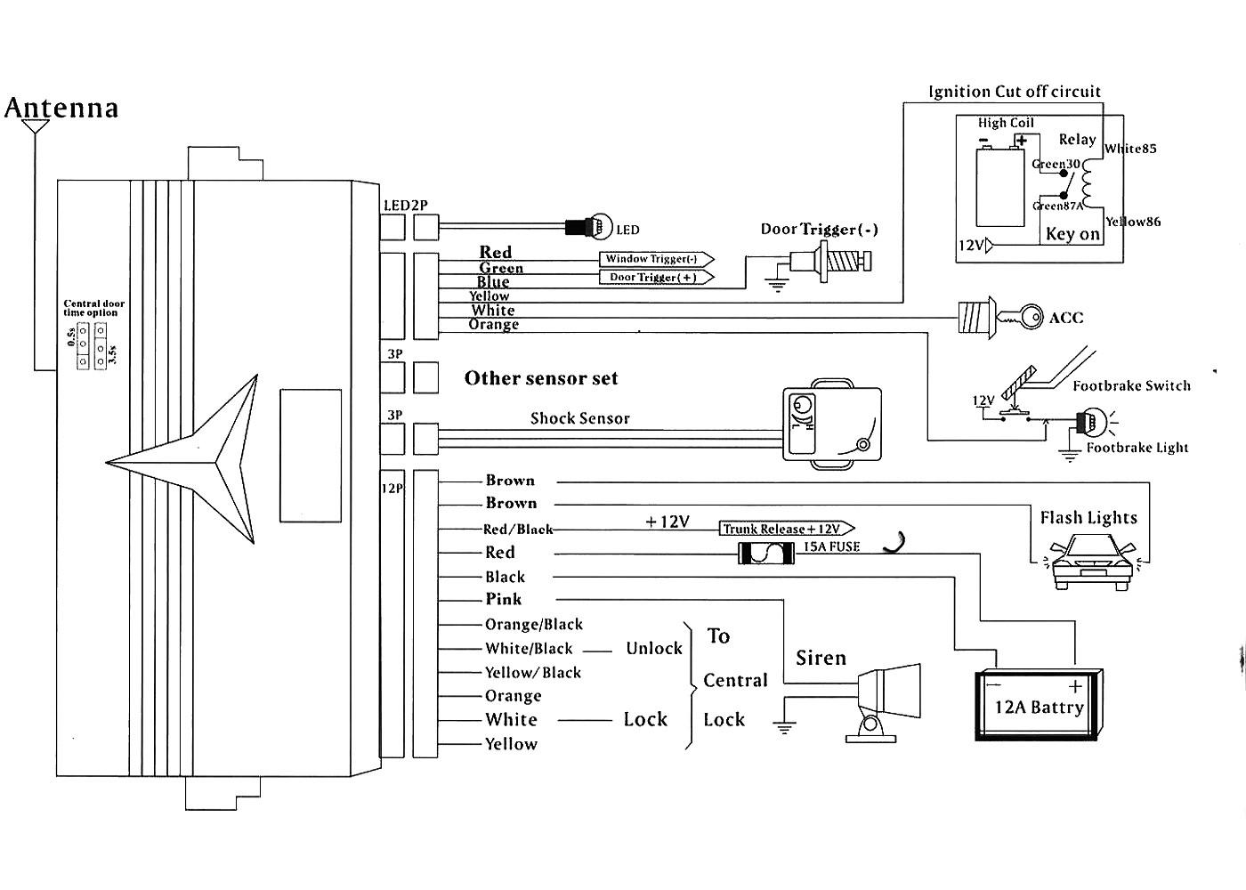 viper alarm wire diagram wiring diagram image rh mainetreasurechest com