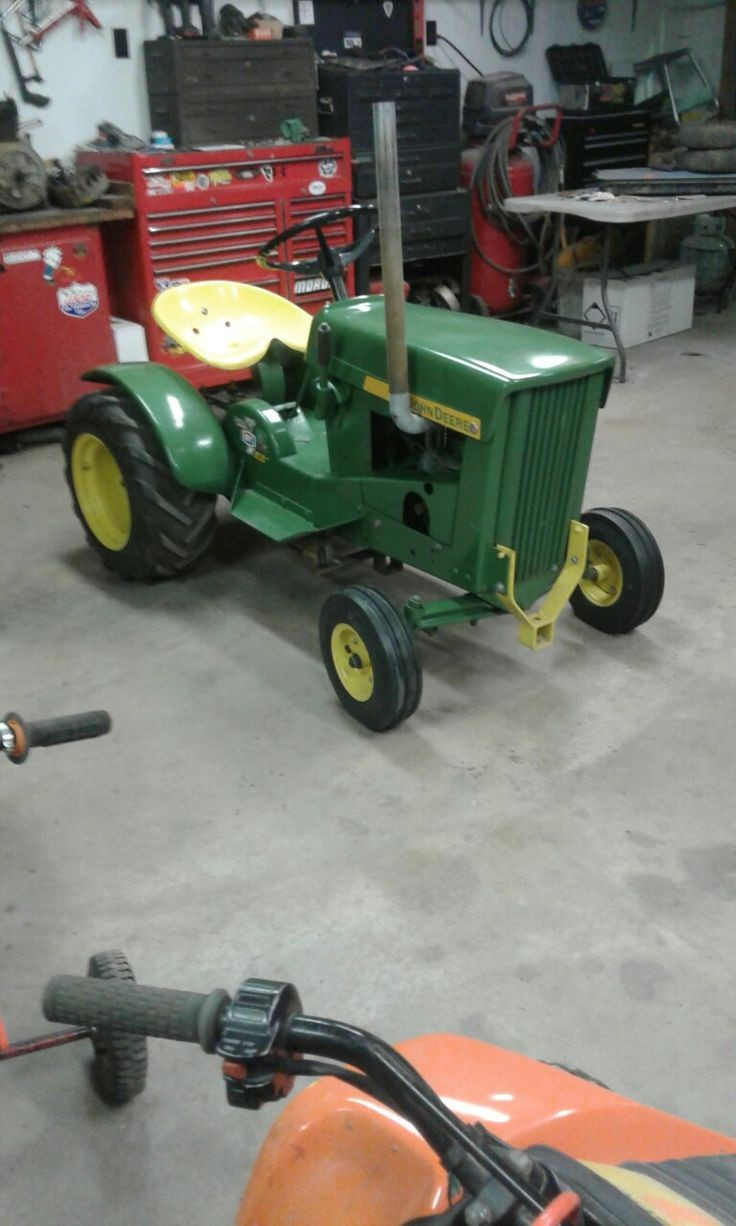 1966 junk yard deere saved 6 year s ago now my sons