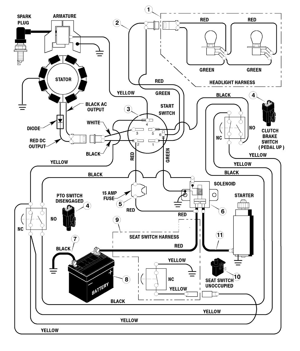 wiring diagram for craftsman engines wiring diagram project Basic Boat Wiring Schematic