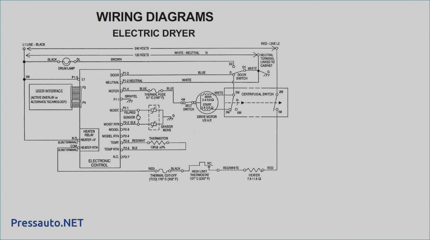 Trend Whirlpool Dryer Wiring Diagram Troubleshoot Image Collections Free For Estate