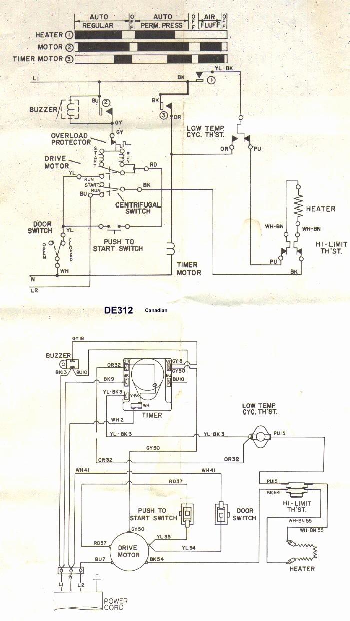 Whirlpool Dryer Heating Element Wiring Diagram Luxury Appliance Talk Kenmore Series Electric Dryer Wiring Diagram Tearing