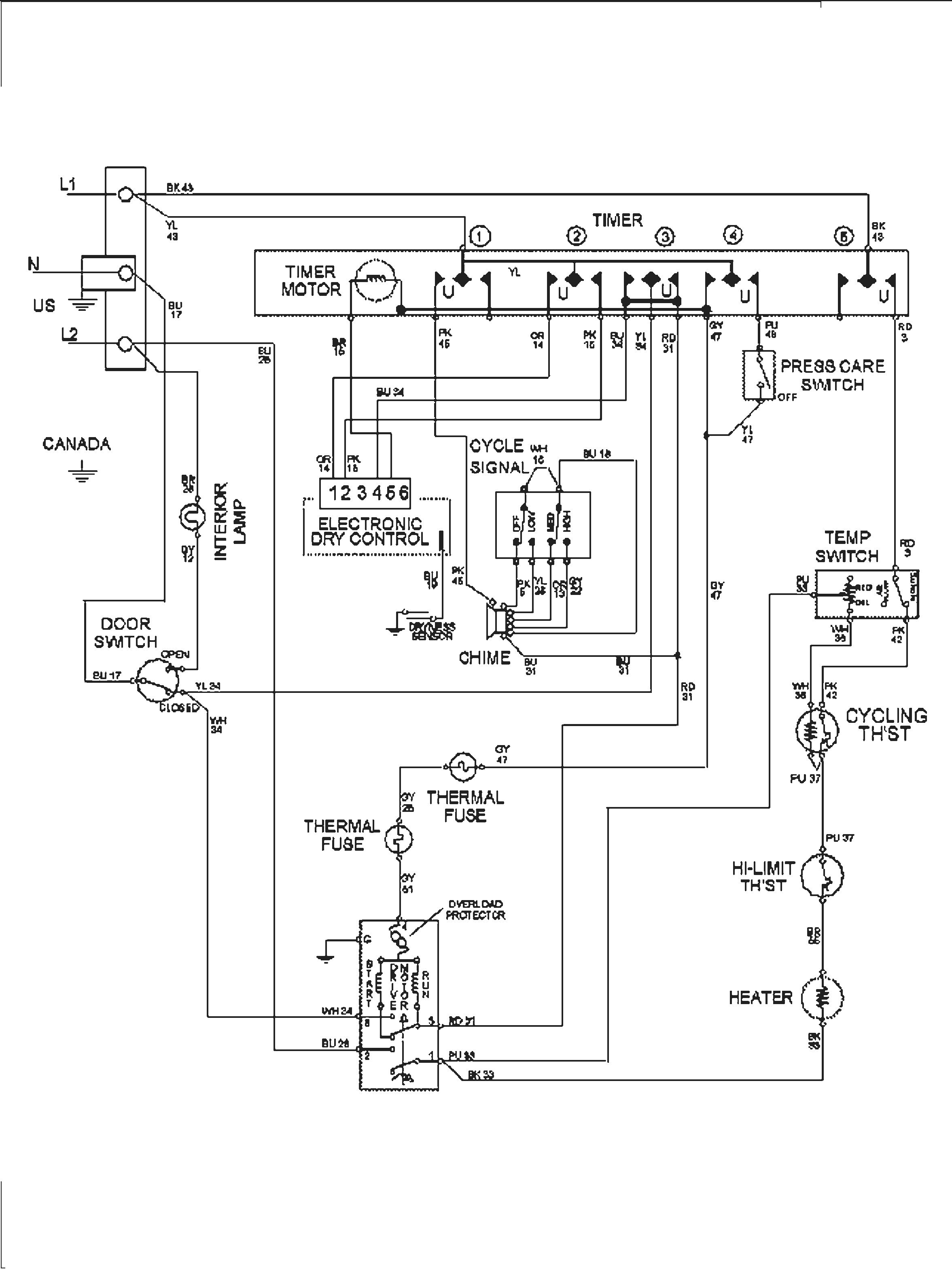 Wiring Diagram For Whirlpool Duet Dryer Heating Element : Maytag duet dryer wiring diagram library