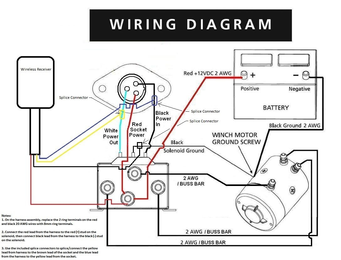 winch wiring diagram elegant