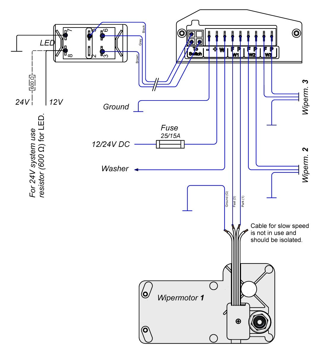 wexco wiper motor wiring diagram wiring diagram review Sprague Wiper Motor Wiring Diagram