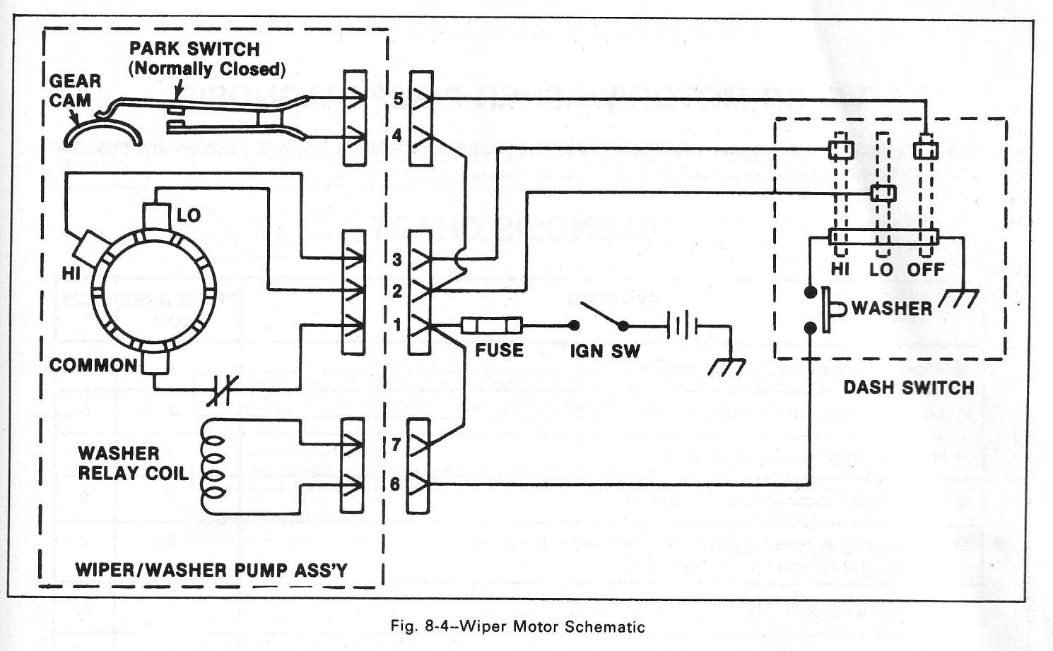Cj5 Wiper Motor Wiring Diagram - Trusted Wiring Diagrams