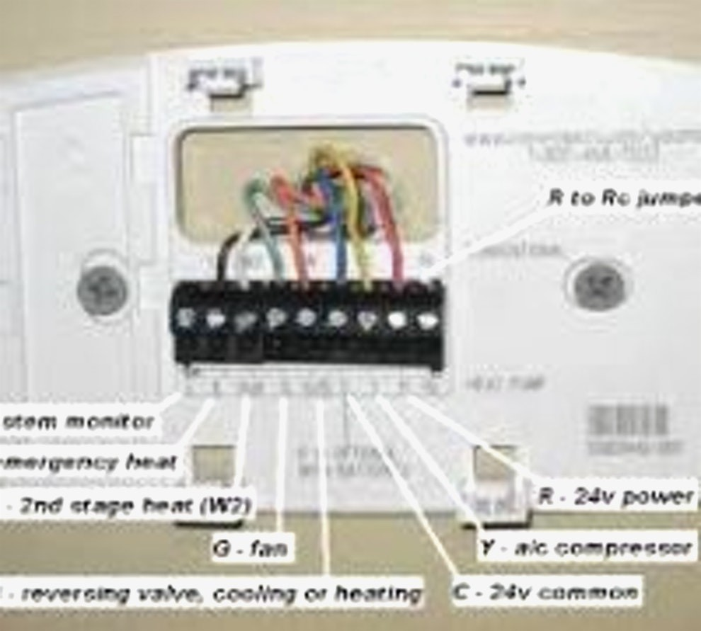 Enchanting honeywell thermostat wiring diagrams photos