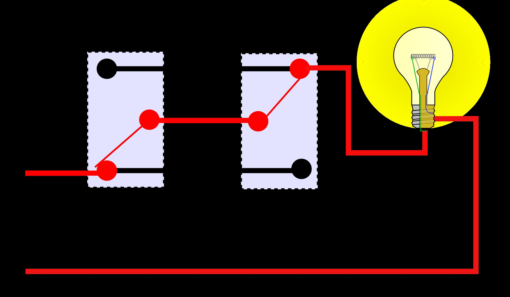 Two Way Switch Wiring Diagram For Lights In 2000px California 3 Unbelievable Light