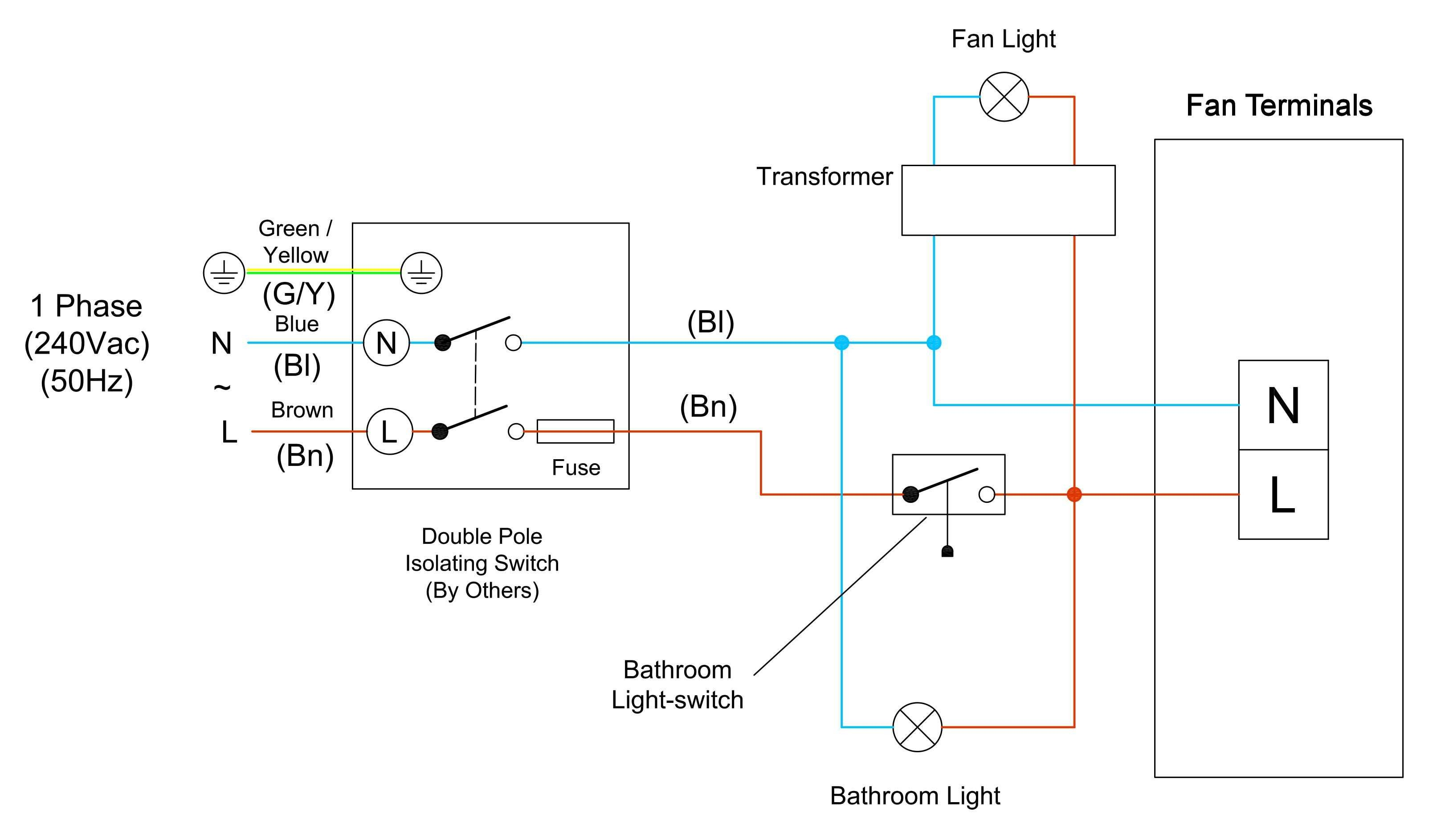 How to Wire Recessed Lighting Diagram Best Wiring A Bathroom Fan and Light Lighting Diagram