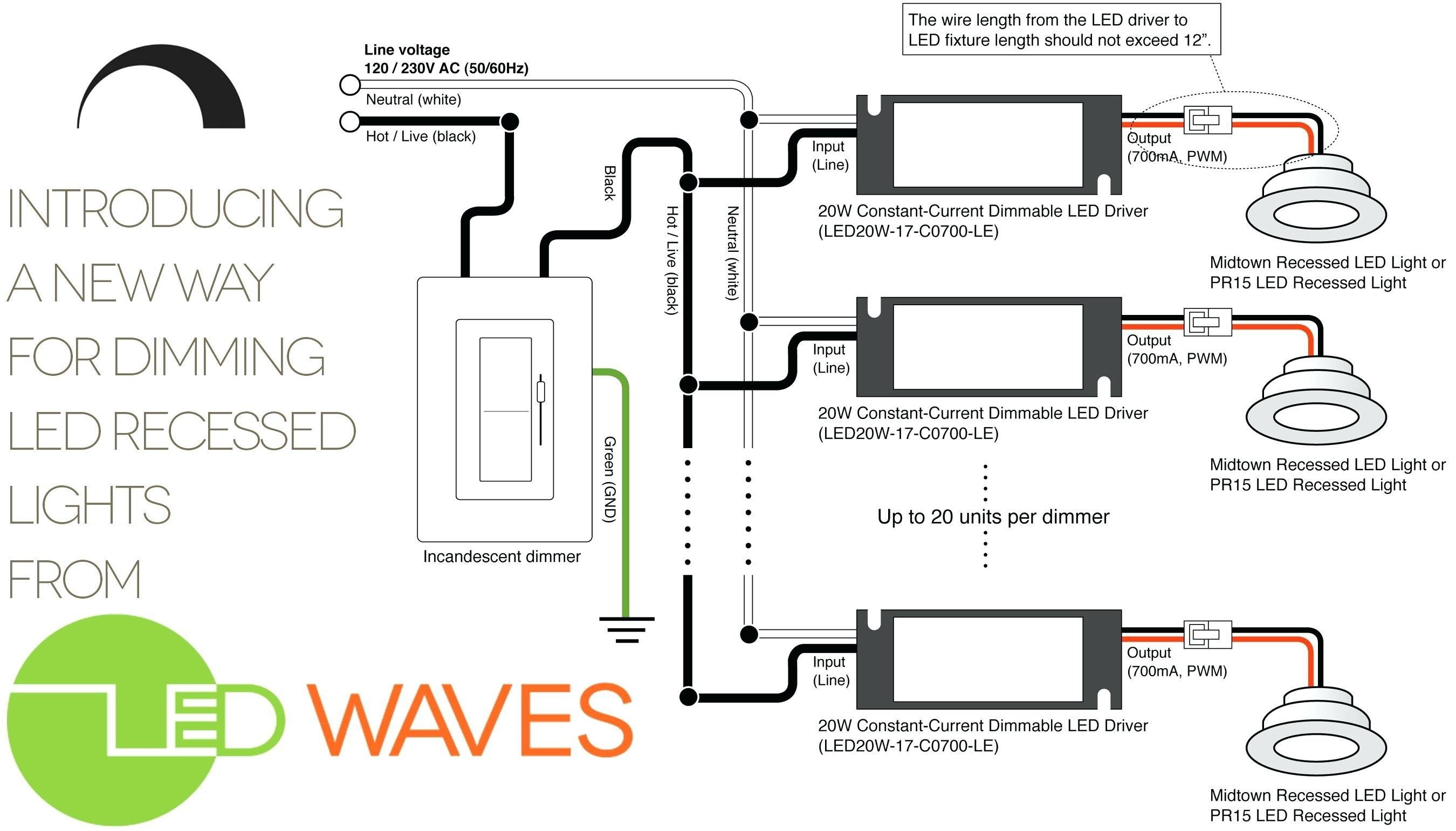How To Wire Recessed Lighting Diagram Inspirational Up