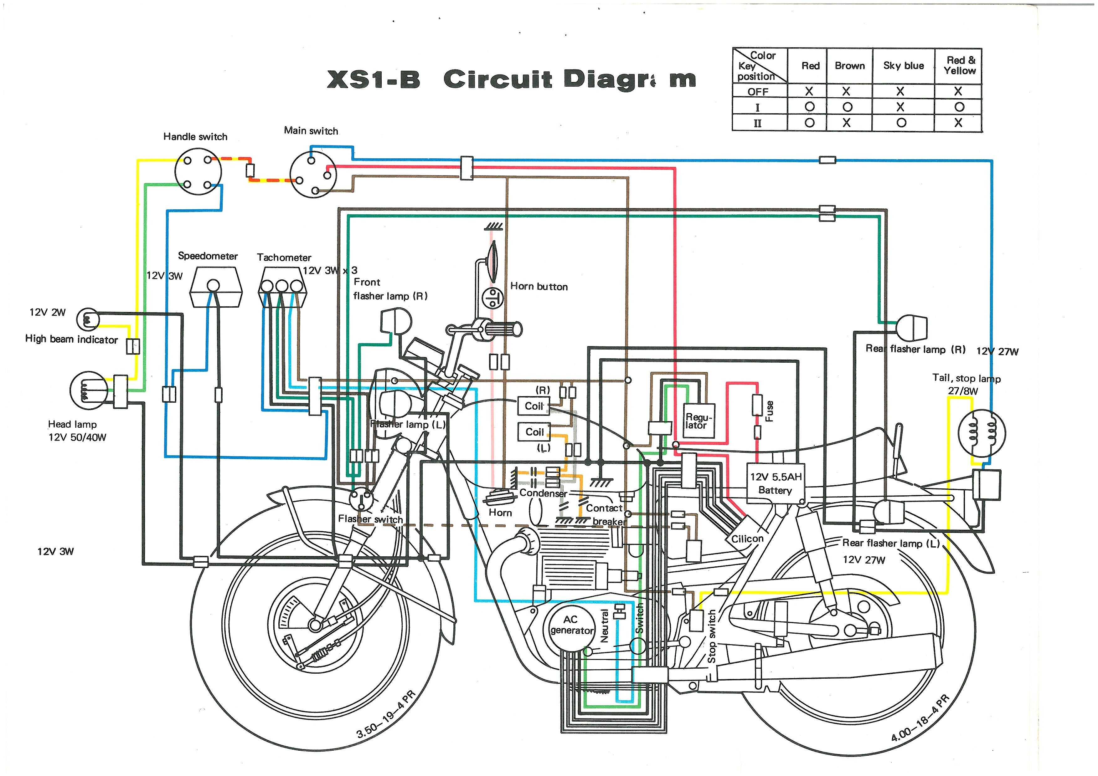 1980 Yamaha Xs650 Wiring Diagram Will Be A Thing 1981 400 Schematic Chopper Hobbiesxstyle Xs400