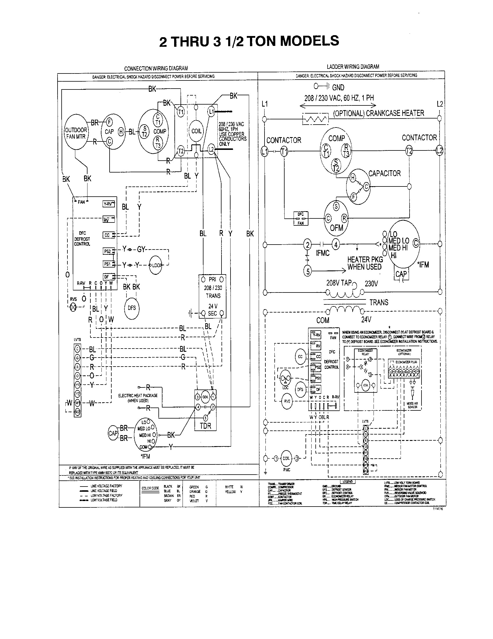 York Wiring Diagram | Wiring Diagram on