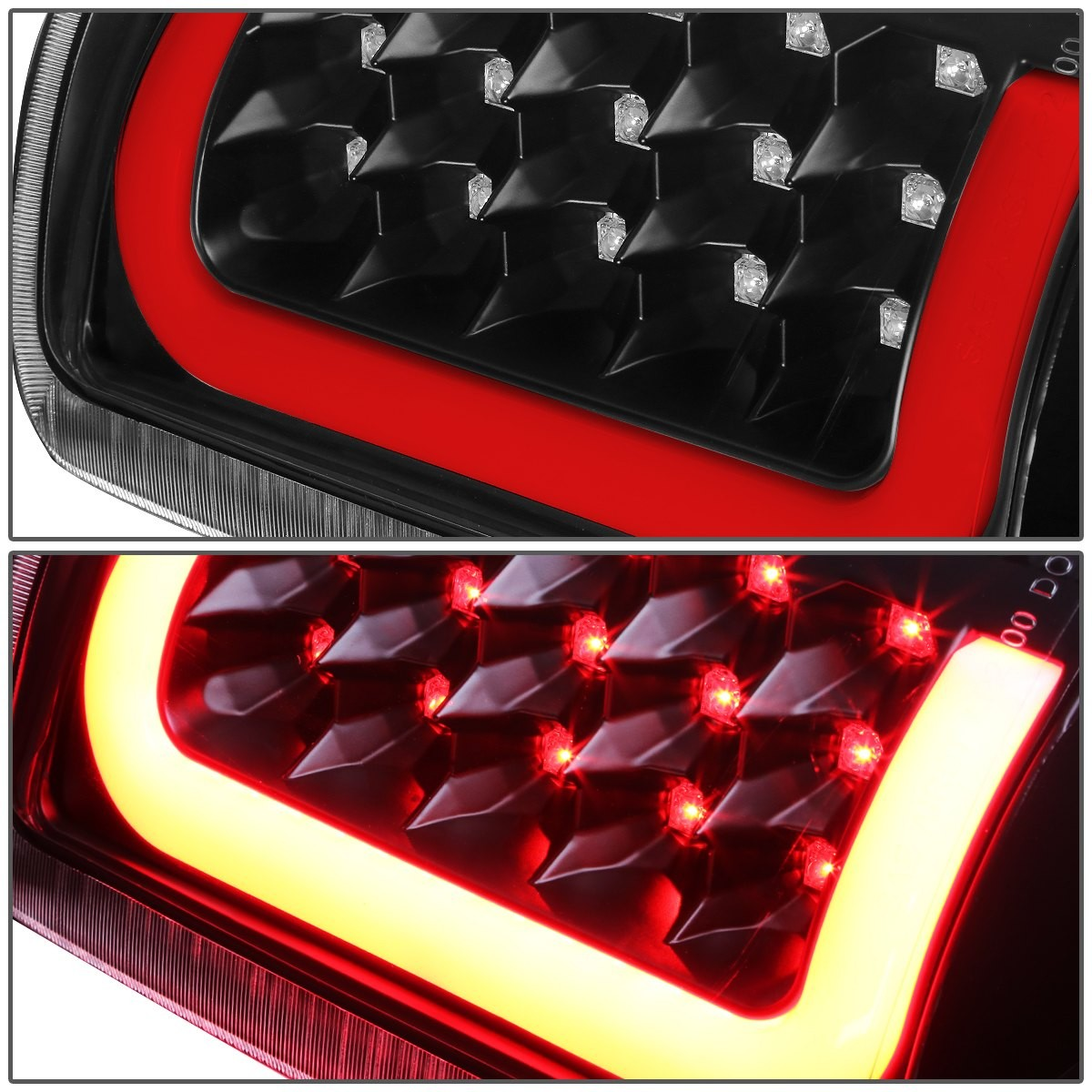 For 00 06 Yukon Denali Suburban Tahoe GMT800 Pair of 3D LED Tail