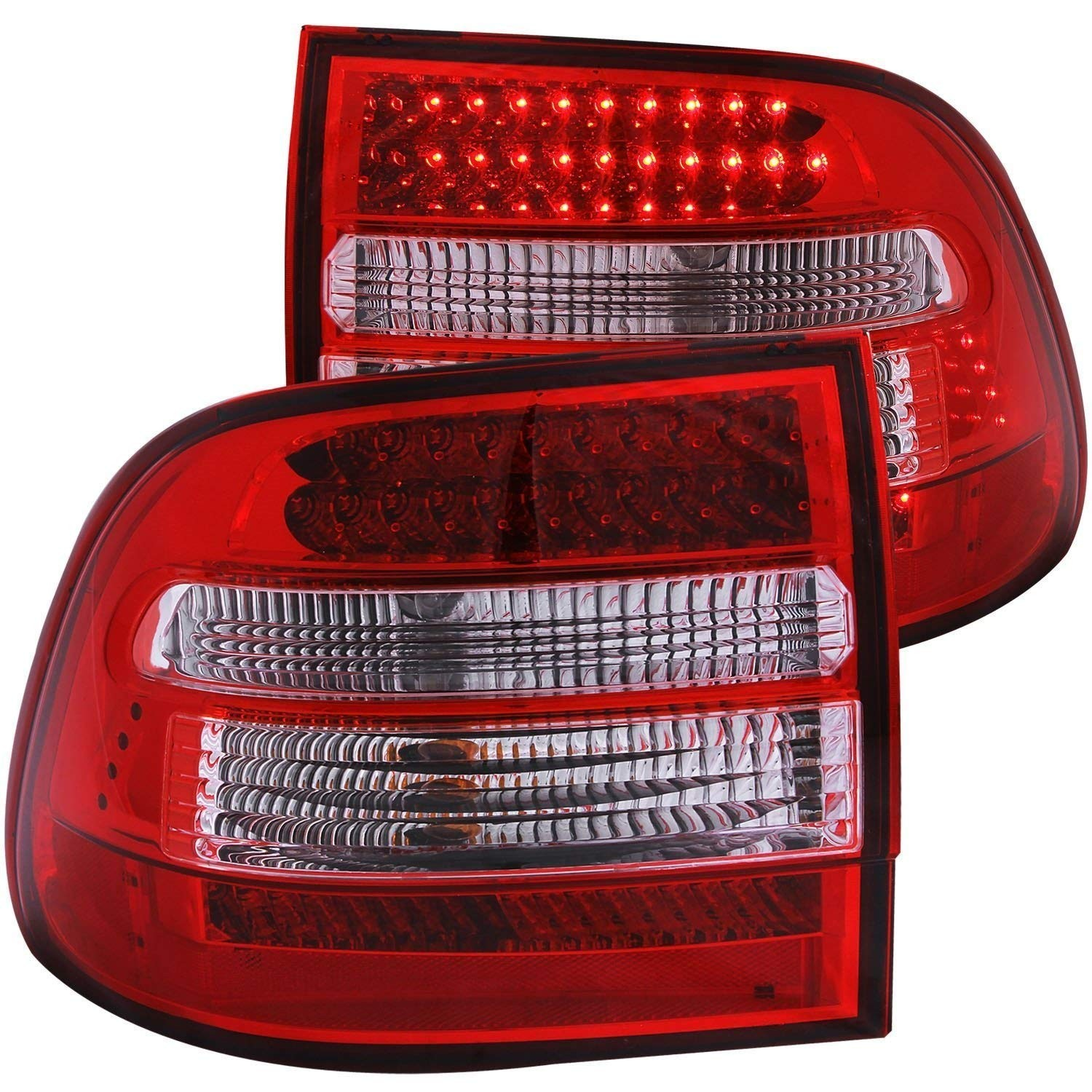 Amazon 2003 2006 PORSCHE CAYENNE REAR BRAKE LAMPS LED TAIL LIGHTS DRL RUNNING FOG PAIR Automotive