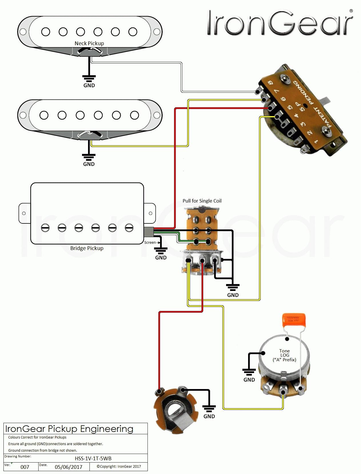 Electric Guitar Wiring Diagram e Pickup Fresh Guitar Wiring Diagrams 2 Pickups Guitar Wiring Diagram 2