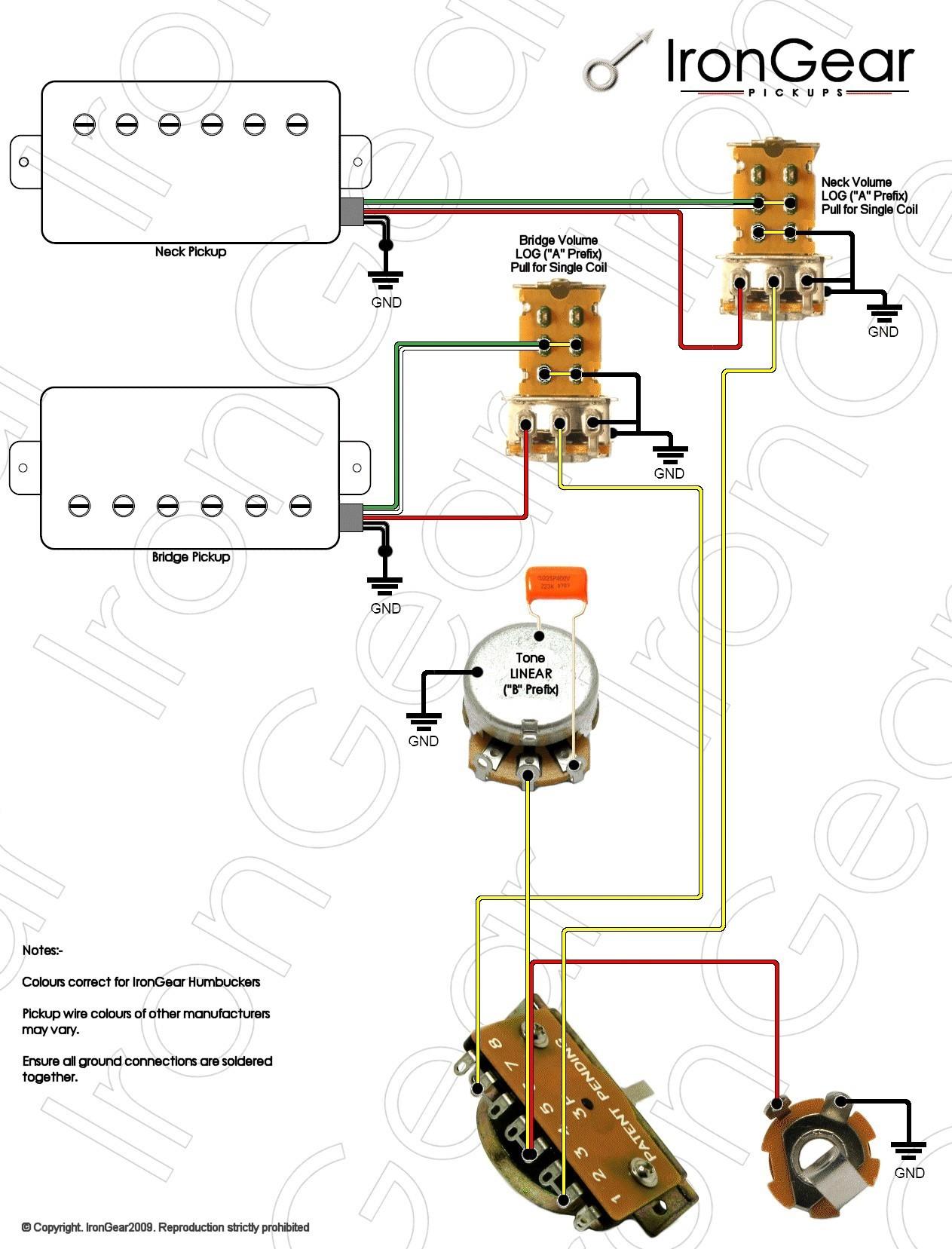 Wiring Diagram Guitar Pickups Fresh Wiring Diagram 3 Pickup Guitar New Guitar Wiring Diagram 2 Humbucker