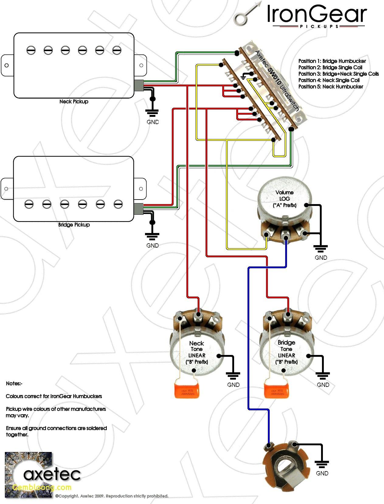 Guitar Wiring Diagram e Humbucker Fresh Guitar Volume Wiring Diagram Valid Guitar Volume Wiring Diagram New