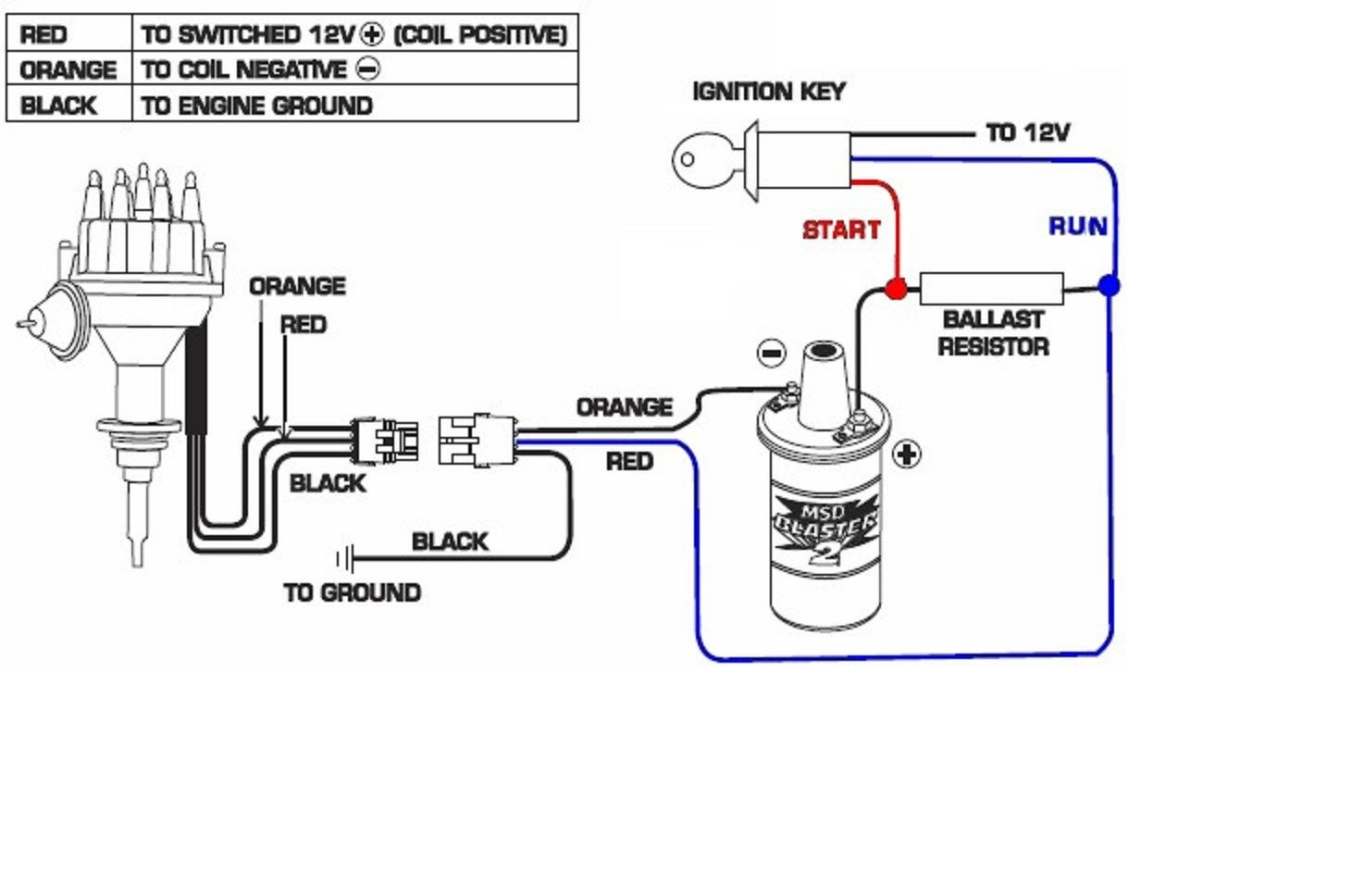 12 Volt Ignition Coil Wiring Diagram | Wiring Diagram Image