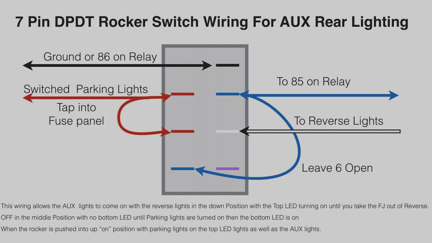 12v Light Switch Wiring Diagram | Wiring Diagram Image