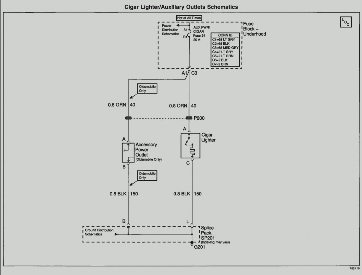 12v Cigarette Lighter Socket Wiring Diagram