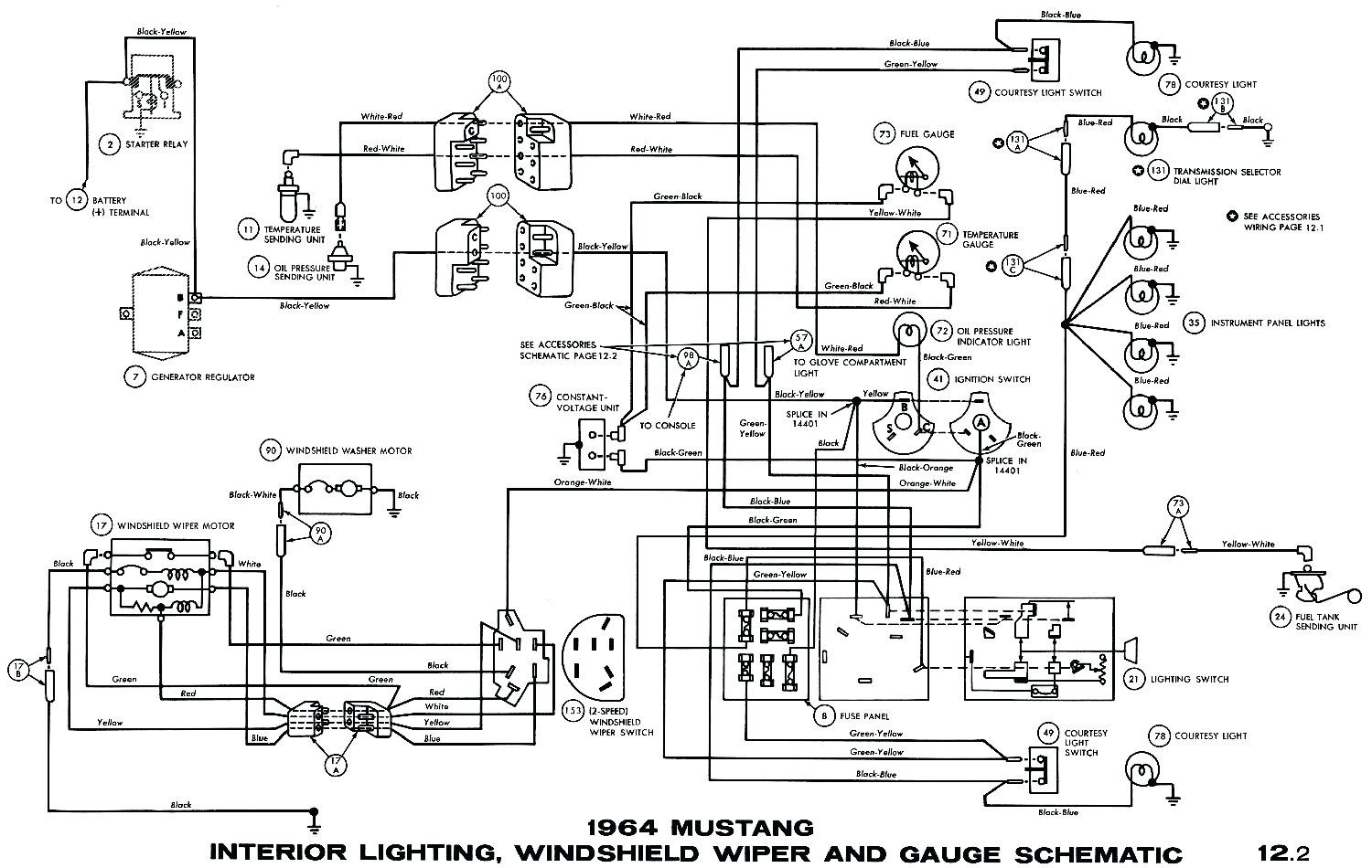 1967 Mustang Fuse Box Wiring Diagram And Vacuum Diagrams Average Within 67