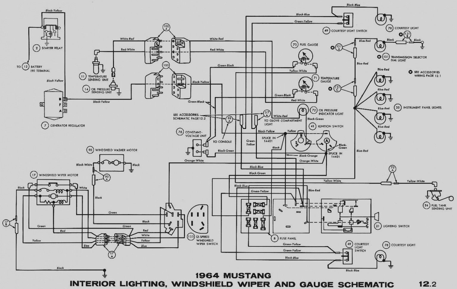 68 Mustang Headlight Wiring Diagram List Of Schematic Circuit 12 Volt Light Fog Lamp 1975 F100 Diagrams Auto Electrical Rh Sistemagroup Me Switch
